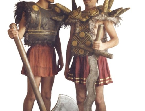 Pentheus and soldier