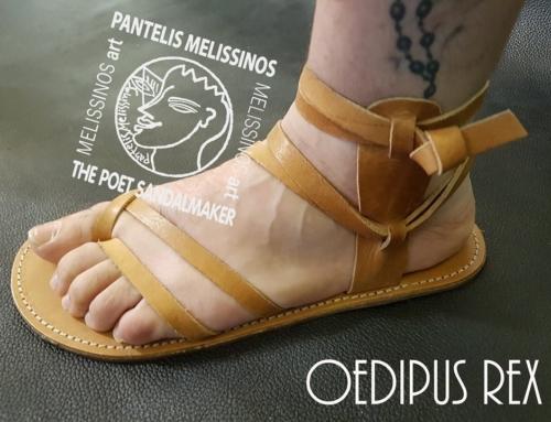 OEDIPUS REX by Pantelis Melissinos – The Poet Sandal Maker