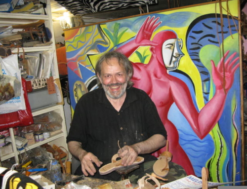 Artist Sandal-maker Puts Art on Your Feet – Matt Barrett's Athens Survival Guide